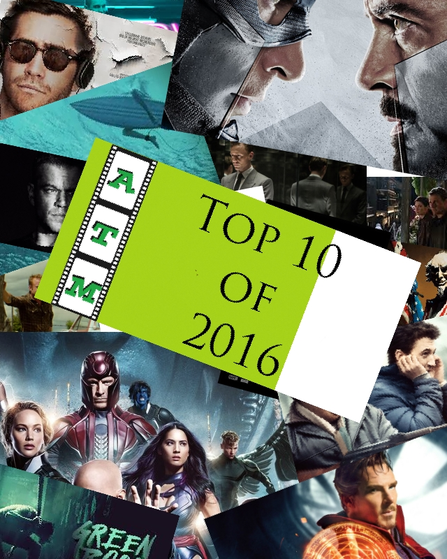 Crow's Top 10 Films of 2016